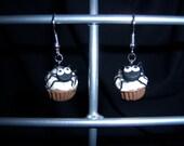Spider Cupcake Earrings