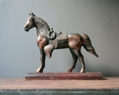 Vintage copper horse