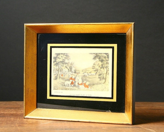 Currier and Ives, Four seasons of life, Childhood