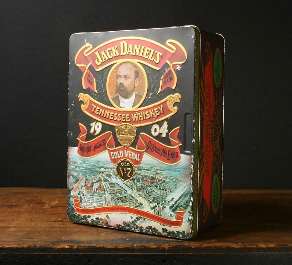 Jack Daniels Vintage Tin Box