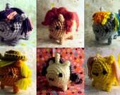 Marshmallow Pony Mane Six Set