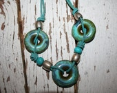 Circles of Turquoise necklace