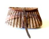 Antique Fly Fishing Creel/ Primitive Basket