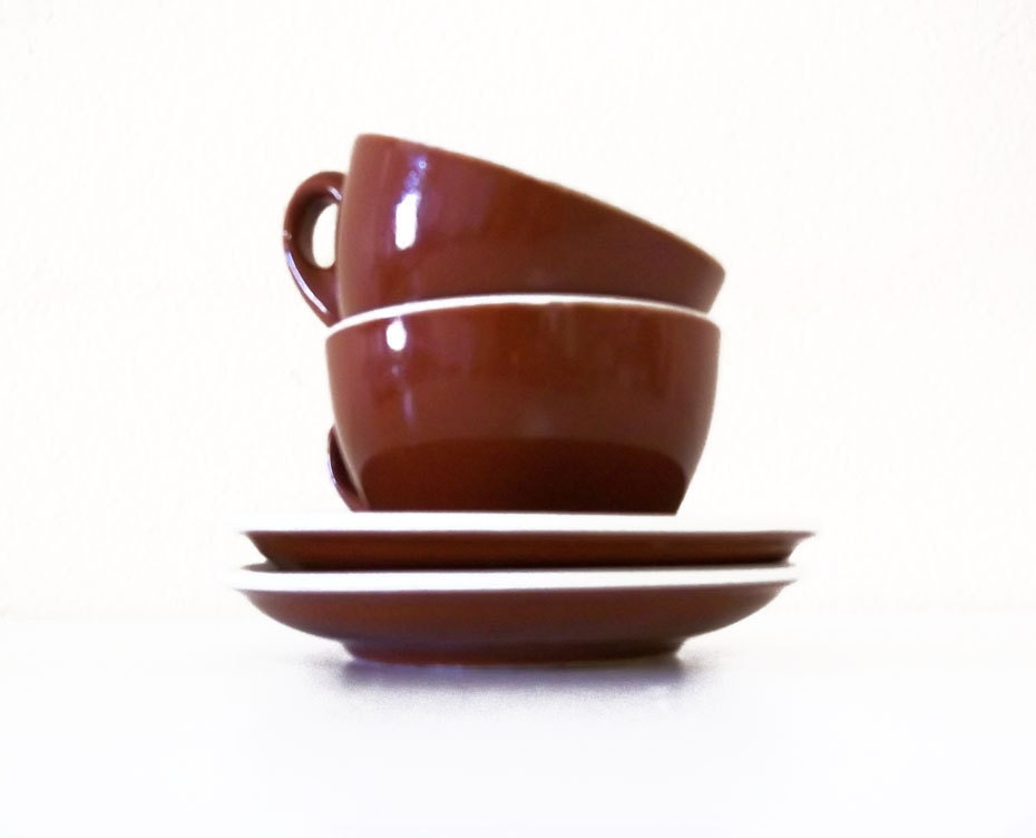 Acf Italian Espresso Cups And Saucers By Nuvegriz On Etsy