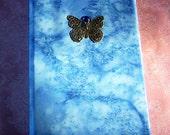 Kindle Fire Kindle Cover Blue Batik