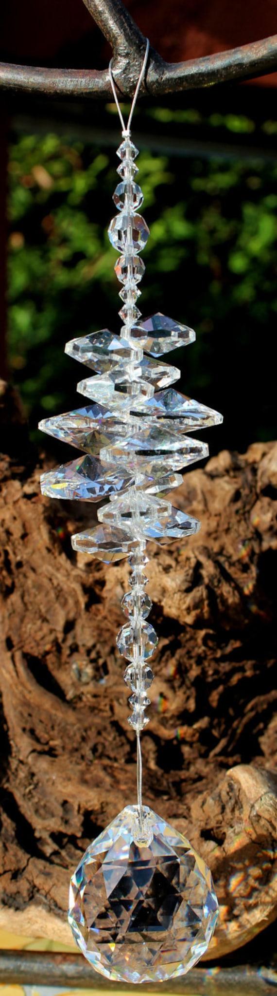 Clear Crystal Suncatcher (Rieki Healing)