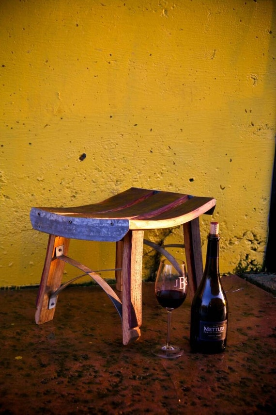 WIne Barrel Footstools