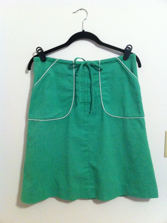 With Envy 1970's Draw string skirt