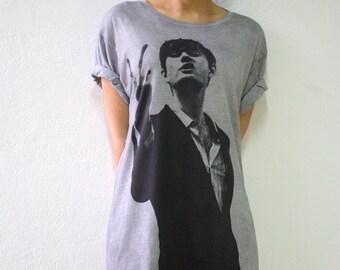 Jarvis Crocker PULP Brit Indie Pop Rock T Shirt XL
