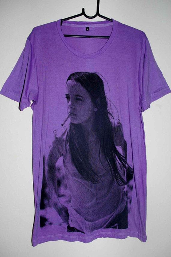 Purple Dinosaur Jr. Green Mind Rock T-Shirt L