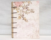 Handmade Journal Pink Blossom