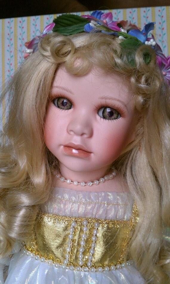 Seymour Mann Porcelain Doll-Faith by gboltz on Etsy
