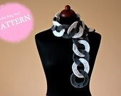 Crochet Pattern - Crochet Ring Scarf (Pattern No. 034) - INSTANT DIGITAL DOWNLOAD
