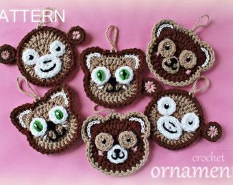 Crochet Pattern - Crochet Animals (Pattern No. 035) - INSTANT DIGITAL DOWNLOAD
