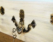 Heart Lock Padlock Box Lock with Heart Keys Silver Lock and key