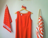 VIVA ITALIA Sweet Tomato Red Mini Dress
