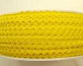 """11/64"""" Rick Rack in Lemon Yellow"""