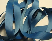 "5/8"" Grosgrain Ribbon - Smoke Blue"