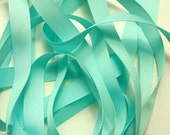 "5/8"" Grosgrain Ribbon - Aqua"
