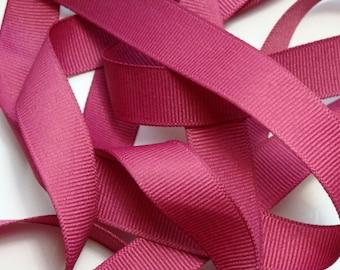 "5/8"" Solid Color Grosgrain Ribbon - Colonial Rose"