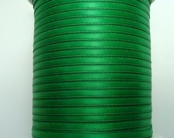 """1/8"""" Satin Ribbon - Emerald Green 10 yards"""
