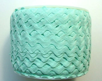 "1/2"" Polyester Rick Rack Trim - Mint Green"