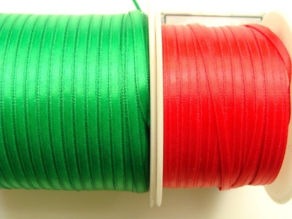 1 8 satin ribbon emerald green 10 yards from for Emerald satin paint