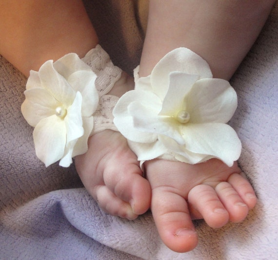 Items similar to Baby Sandals, Baby Shoes, Barefoot ...