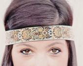 The Indian Princess Headband, Indie, elastic closure, beautiful ornate detail