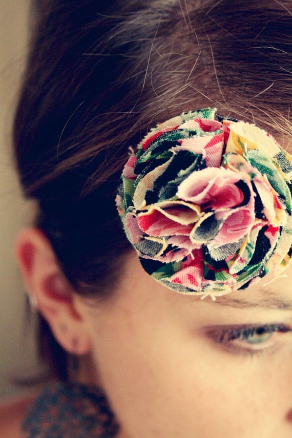 SALE Flower Headband, Girl and Adult, simple and beautiful, You Choose Colors-Ready to Ship