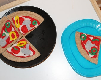 Eco Friendly Felt Pizza
