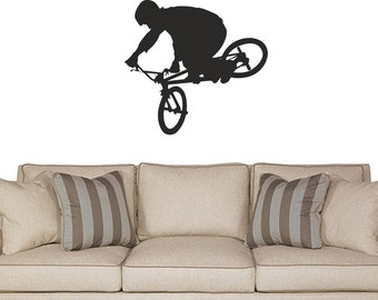 Bike Freestyle BMX wall decal