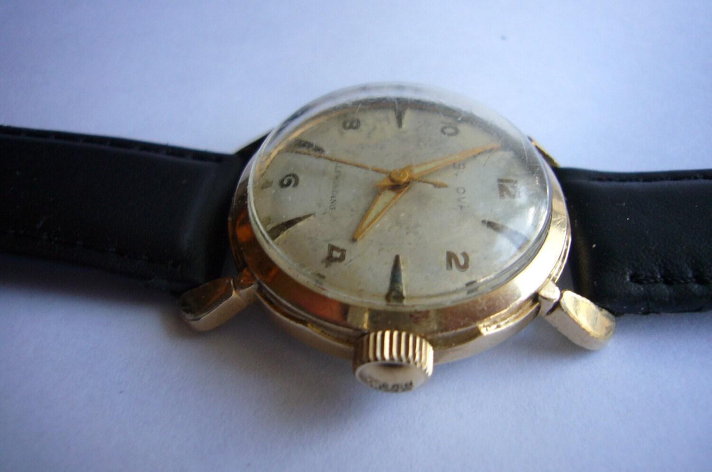 Bulova Selfwinding Vintage Men S Wrist Watch Fancy Lugs