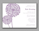Dandelion Bridal Shower Invitation