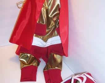Custom made dogs or cats costumes:Batman,BAtgirl,Beaver,Peanut,Luchador,Monk