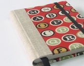 2012 Small Weekly Planner - Red Letters (Made to order)