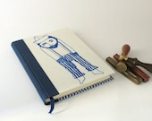 Sailor Journal - Handmade Journal - OOAK