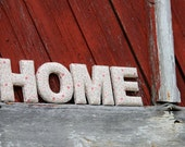 """HOME mini 5"""" Fabric Letters for home decor"""