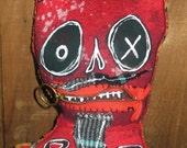 Devil Roll The Dice - OOAK Art Doll by Suzanne Cook
