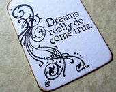 Dreams Come True Gift Tags - Wedding Favors, Bridal Shower Favors - Wish Tree Tags