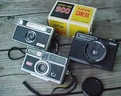 A Trio of Funky Old Cameras ( Instant  Collection )