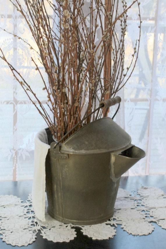 Vintage Metal Mop Bucket/Reserved