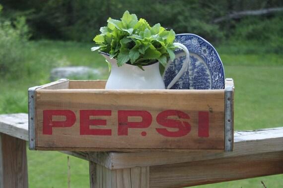 Vitnage Pepsi Cola Crate