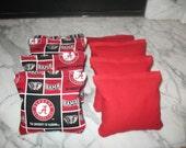Alabama Crimson Tide Cornhole Bags SET OF 8 - Meet ACA Specs