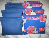 Buffalo Bills NFL Cornhole Bags Set of 8 ACA CERTIFIED