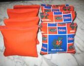 Florida Gators Cornhole Bags - Set of 8 - Meet ACA Specs