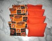 Oklahoma State University Cowboys Cornhole Bags Set of 8 ACA CERTIFIED