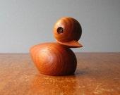 Skjode Style Danish Modern Teak Duck