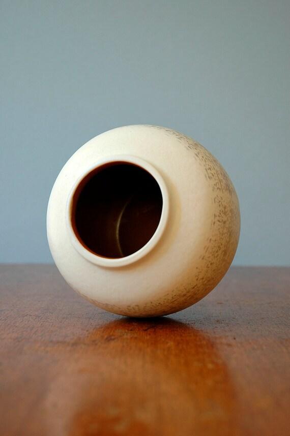 Vintage East German Veb Haldensleben Pottery Vase - RESERVED