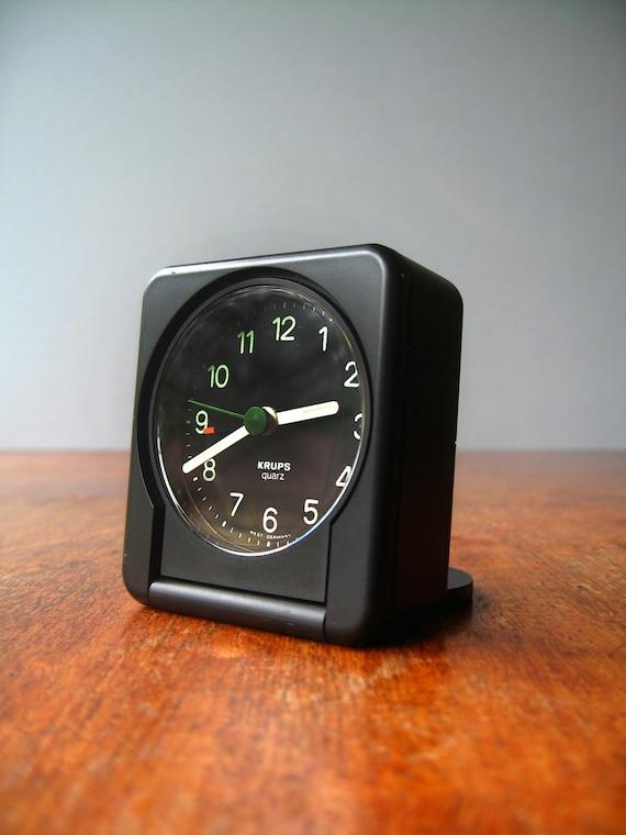 Single Serving Coffee Maker Alarm Clock : Vintage Krups Alarm Clock